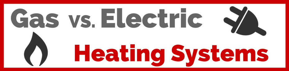 gas vs electric heating