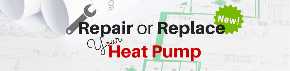 repair or replace heat pump