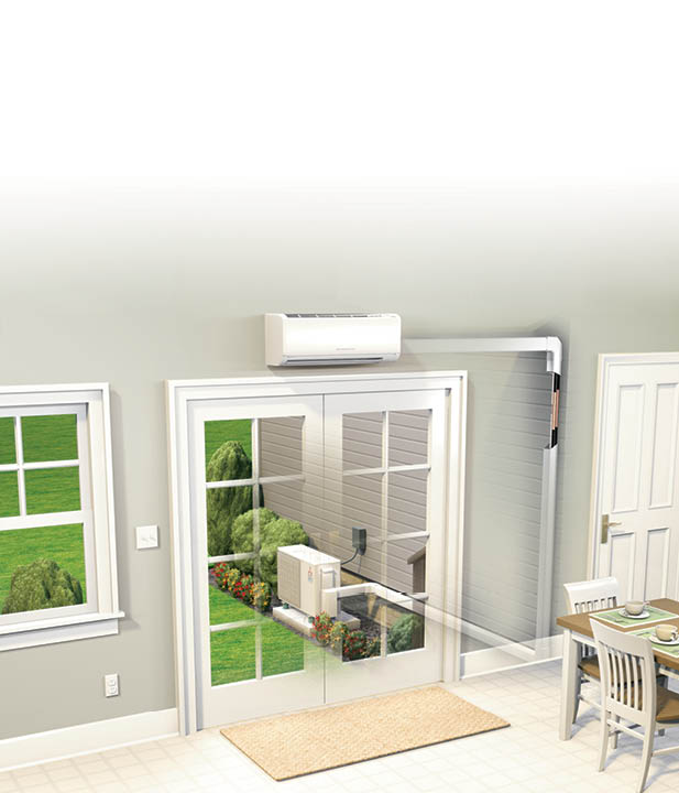 Ductless Or Mini Split Heating And Cooling U2013 Zimmerman Plumbing Heating And  Air Conditioning | Harrisburg PA