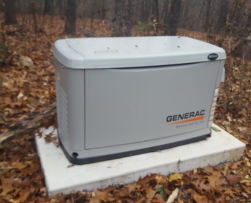 Generac product on site