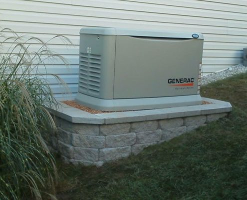 generac system outside of a home