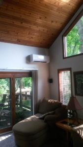ductless heating and cooling installation in central pa