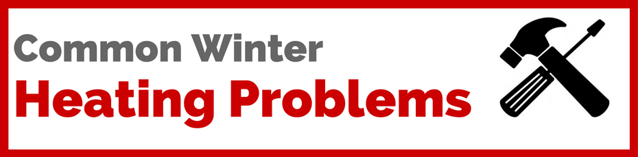 common heating problems winter