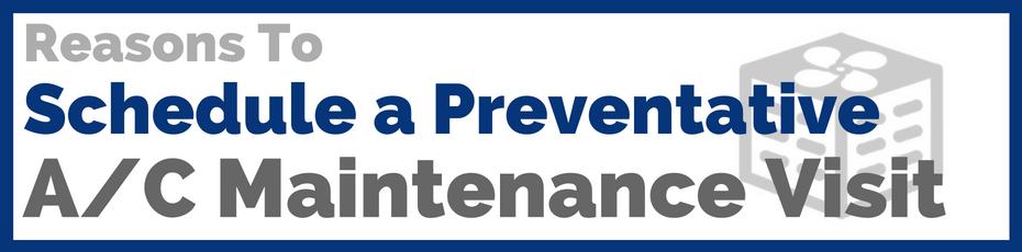 a/c preventative maintenance