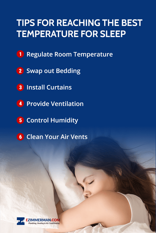 Tips for Reaching the Best Temperature for Sleep